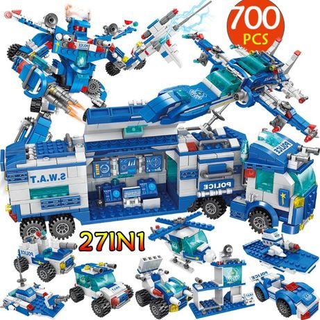 Policja klocki z LEGO City kompatybilne