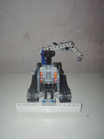 Zamiatarka_dźwig lego technic