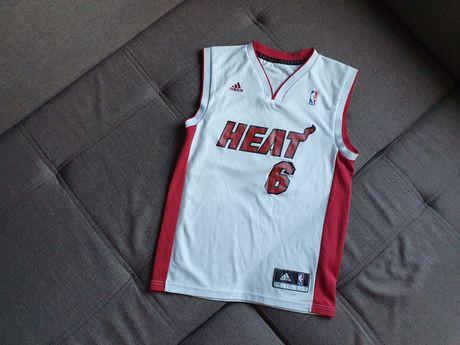 Майка баскетбольная Adidas Heat джерси NBA majestic
