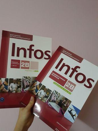 Infos 2B podręcznik z ćwiczeniami + minirepetytorium NOWE