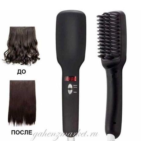 Оригинал! США Расческа выпрямитель для волос PTC Heating 2 in 1