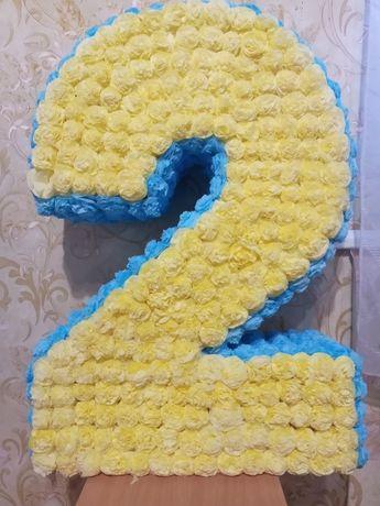 Двоечка цыфра на день рождения