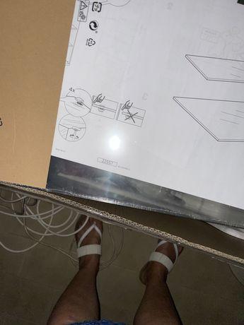Vidro besta Ikea 56x36 cm novos na embalagem