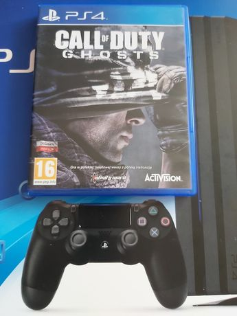 Gra na PlayStation Call of Duty Ghosts wersja pl idealna