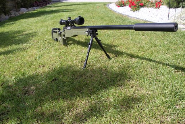 Karabin snajperski L96 asg Mb-08 Well 550fps
