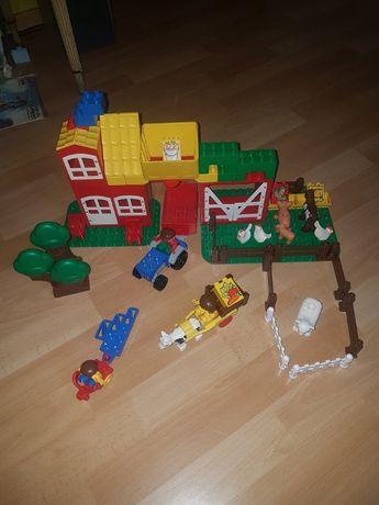 dzis lego duplo farma,zwierzeta,traktor