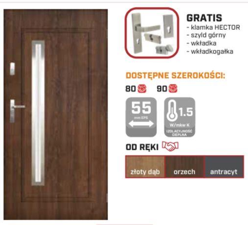 drzwi zewnętrzne 56mm porto
