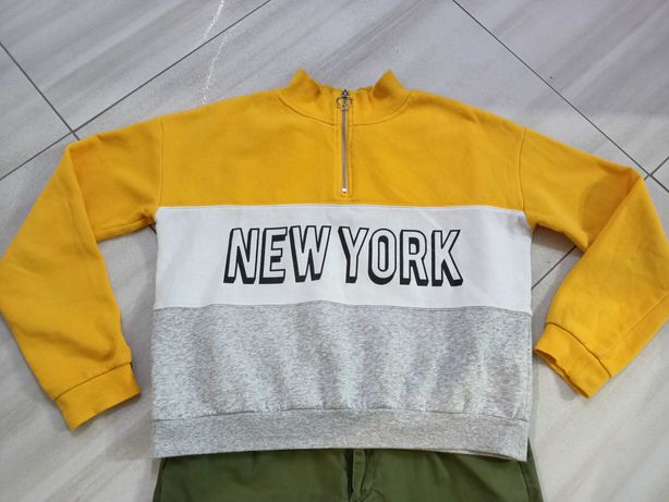Bluza H&M 158+spodnie Sinsay M