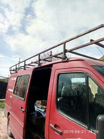 Багажник на Splinter с лесницей