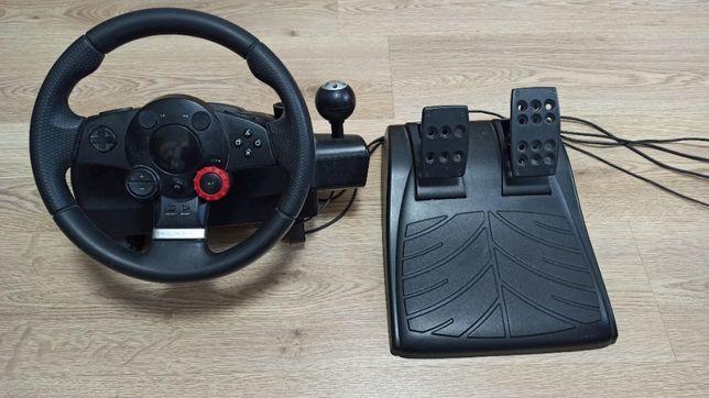 Руль и педали Logitech Driving Force GT !_НОВЫЙ_!