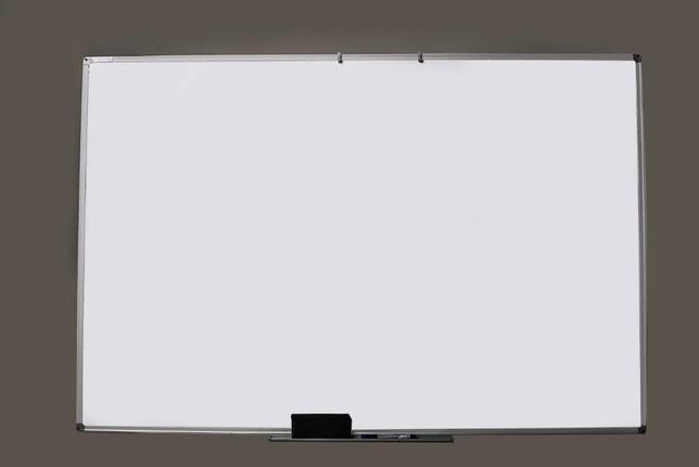 Доска маркерная магнитная 75х100 см белая.Маркерна магнитна дошка біла