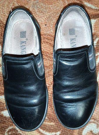Туфли кожаные р. 33