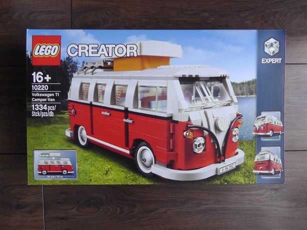 LEGO Creator Expert 10220 Mikrobus kempingowy Volkswagen T1 - NOWE
