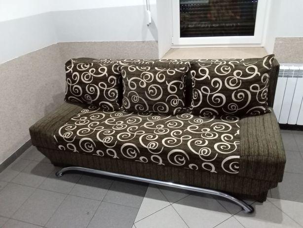 Wygodna kanapa 3 poduszki CZYSTA WYPRANA