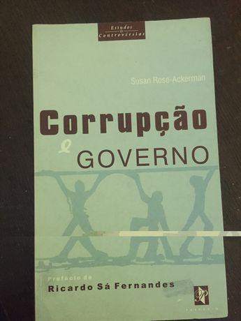 """Livro: """"Corrupção e Governo"""""""
