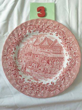 Conjunto de Pratos decorativos ingleses