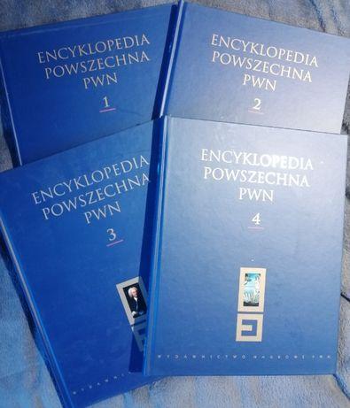 Encyklopedia Powszechna PWN tomy 1-4