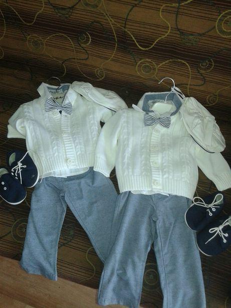 Ubranka do chrztu dla bliźniaków