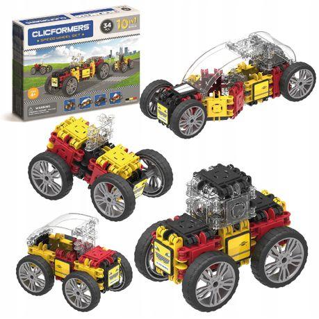 Clicformers klocki konstrukcyjne Pojazdy 10 w 1