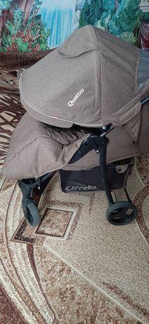 Прогулянкова коляска Carrello Quattro len