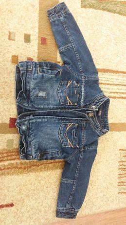 Karteczka jeansowa