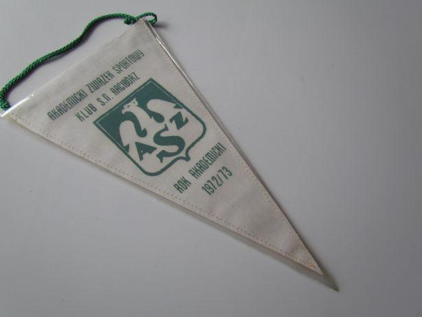 Proporczyk AZS Klub SN Racibórz 1972 Akademicki Związek Sportowy