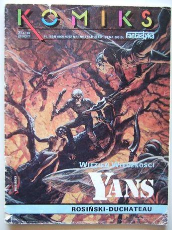 """Komiks Fantastyka nr 3/4/88 - """"Więzień wieczność Yans"""""""