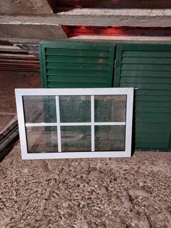 Conjunto janela e portada