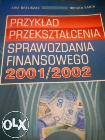 Przykład przekształcenia sprawozdania finansowego 2001/2002