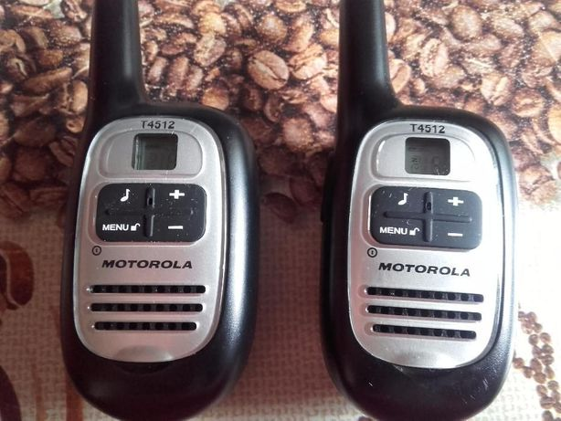 Krótkofalówki MOTOROLA T4512