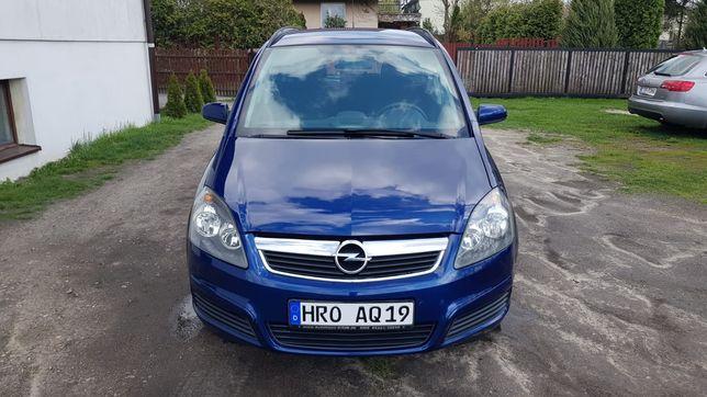 Opel Zafira 1.6 Benzyna Klima Tempomat 7-osobowa Opłacona z Niemiec