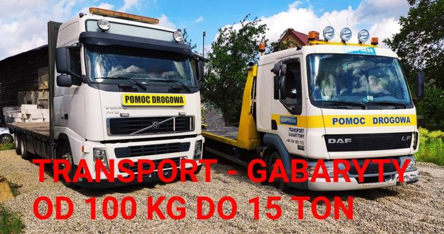 Laweta , Pomoc drogowa ,Transport rolniczych , budowlanych TIR GABARYT