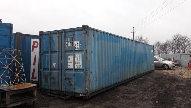 Контейнер морский 40 футiв (12,2/2,44/2,60м.)