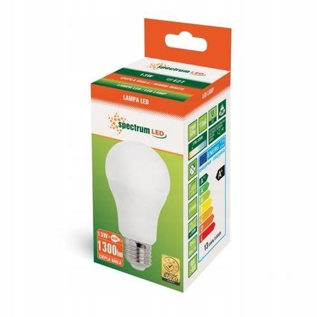Żarówka SPECTRUM LED E27 13W ciepła 1300lm A+