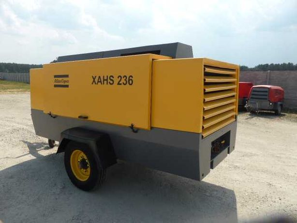 Kompresor sprężarka ATLAS COPCO XAHS 236 osuszacz