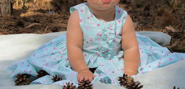 Продам платье песочник ромпер Next Early Days Bluezoo