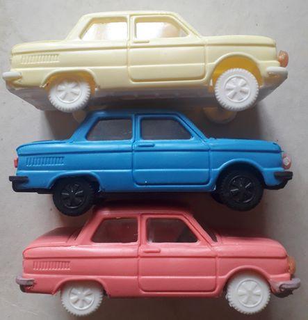 Модель ЗАЗ 966 СССР пластик