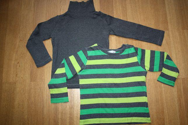 Zestaw bluzka + golf H&M rozm. 98/104