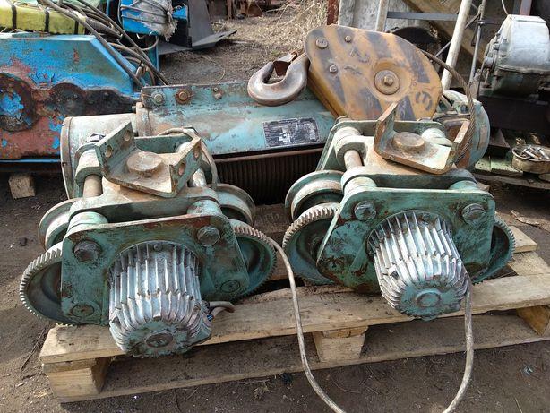 Электродвигатель тележка тельфера к 1407-4 1 2 крюковая тон 3.2 5 тонн