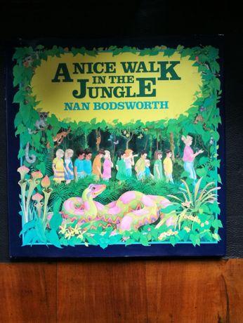 """""""A nice walk in the jungle""""Nan Bodsworth plus kaseta z nagraniem"""