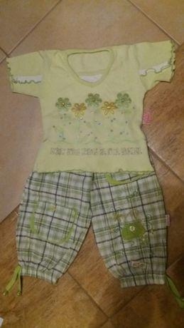 Kpl spodenki + koszulka 2 - 3 lat