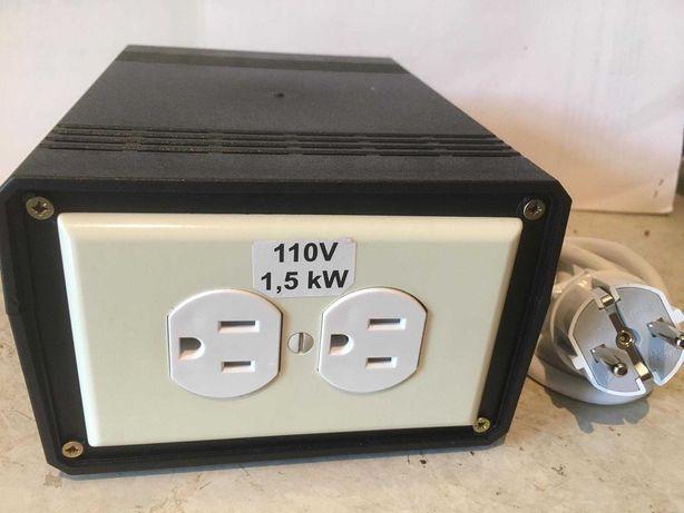Трансформатор,преобразователь перетворювач з 220 на 110V-- 1500 W