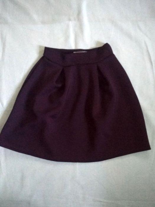 Бордовая юбка Житомир - изображение 1