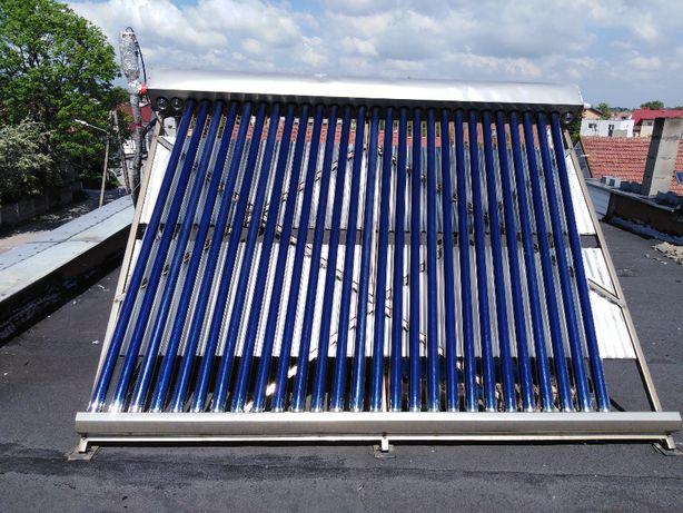Transport Boiler+kolektor solarny 30 rurowy panel solar słoneczny