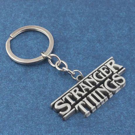 {Stranger Things}Лого-Брелок Очень Странные Дела Сериал Netflix сериал