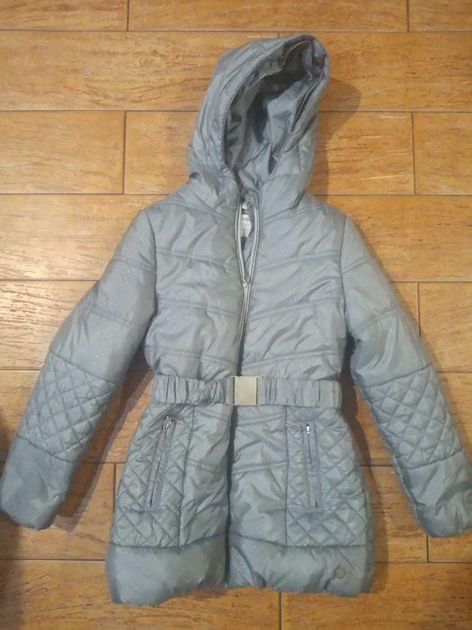Dłuższa kurtka zimowa Coccodrillo, dziewczęca, rozmiar 134 Goleniów - image 1