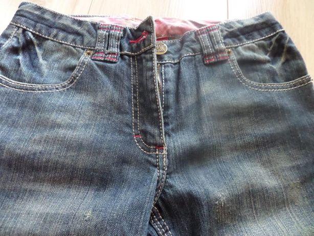 jeansy dla dziewczynki cool club 140 cm