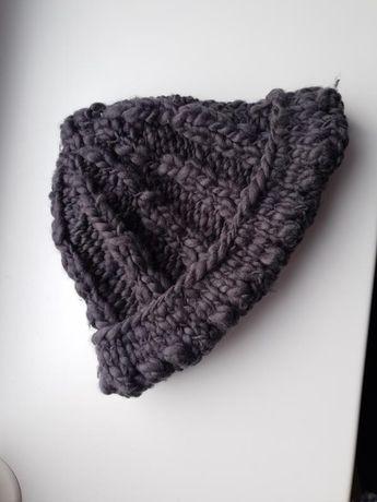 Шапка и шарф набор из шерсти мериноса