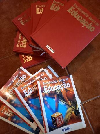 Enciclopédia Geral da Educação - 6 volumes