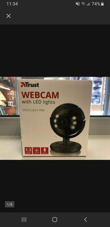 Kamerka internetowa TRUST Spotlight LED HD Mikrofon